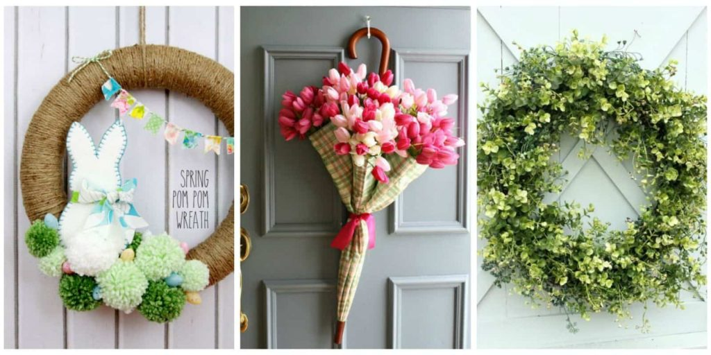 how to spruce up your doorway for spring